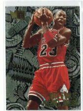 1995-96 Fleer Metal Michael Jordan Nuts & Bolts #212 Chicago Bulls HOF