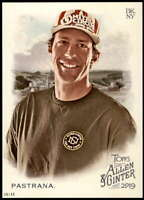 Travis Pastrana 2019 Allen and Ginter 5x7 #184 /49