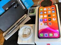 Apple iPhone X (64gb) Verizon Globally Unlocked (A1865) Silver: MiNT {iOS13}91%