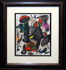 Joan Miro Vol 4 No3 Framed Original Art Lithograph Gallery Framed SUBMIT OFFER!