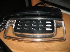 RADIO SHACK Home Desk Krystal II Fashion Fone Phone Telephone Black 43-368A