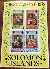 1979 Solomon Island christmas mini sheet