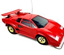 Car Radio Control Countach 5000s Shinsei Lamborghini RC Red Scale 1980 12 VTG