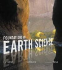 Foundations of Earth Science by Frederick K. Lutgens... (PDF File+USB Drive**)