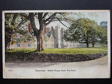 Kent SEVENOAKS Knole House from The Park c1907 Postcard by J. Salmon 20750