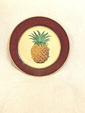Pineapple decorative plate - New Country Gear by Toyo Trading Co.