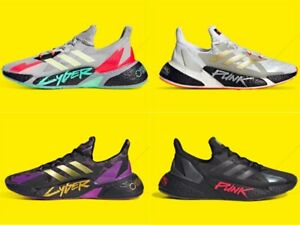 adidas Originals X9000L4 CYBERPUNK 2077 Collaboration Boost Sneakers 4 Colors