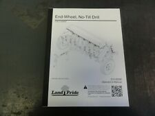 Landpride 706 1006nt End Wheel No Till Drill Operators Manual 313 855m