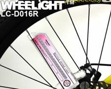WHEELiGHT Bike Bicycle Tire Wheel 32 Multi-color LED Flashing Spoke Light -Pink