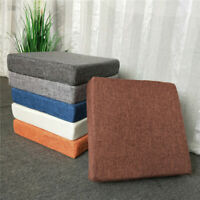 Square Thick Booster Cushion Seat Pads Chair Home Office Garden Armchair Dining