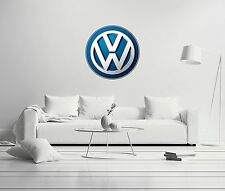 Volkswagen Shield Badge Exclusive Cars Wall Decal Decor For Car Home X-Large