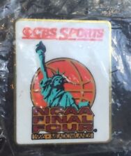1996 NCAA Final Four Meadowlands CBS Sports Media Press Pin Kentucky New in Bag