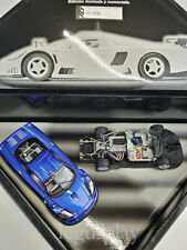 Slot car Scalextric Fly Saleen S7-R Sreet Blue  SET  LTED.ED