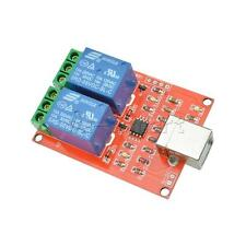 New 5V USB Relay 2 Channel Programmable Computer Control For Smart Home