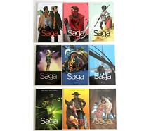 Saga #1 - #9 TPB (Image Comics, 2012-2018)
