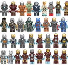 Custom Iron Man Mark 1-49+ Minifigure Avengers Endgame Building Blocks