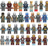 Custom Iron Man Mark 1-49+ Minifigure Avengers Fits Lego Building Blocks