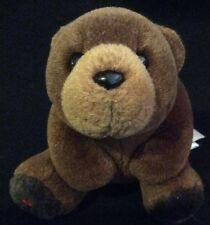 """Maplefoot Babies Syrup Brown Bear Plush Canada 5"""" Soft Toy Stuffed"""