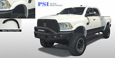 BLACK SAND BLACK TEXTURED Extension Fender Flares 10-18 Dodge RAM 2500 / 3500