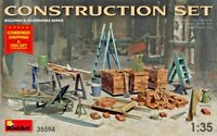 Miniart 35594 - 1/35 Construction Set Scale Model Kit Accessories for Diorama