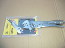 "STANLEY 10"" LOCKING ADJUSTABLE WRENCH NEW"