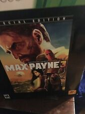 Max Payne 3: Special Collectors Edition Xbox 360 Brand New  Seal Has Been Broken