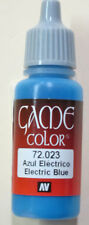 Vallejo Game Color Paint: 17ml  Electric Blue  72023