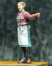 Djiti's 1/35 European Civilian Woman Pointing Direction WWII [Resin Model] 35056