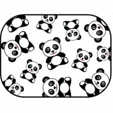 "NEW Auto Drive Panda Static Cling Car Window Shade 16"" x 12"" Universal Fit"