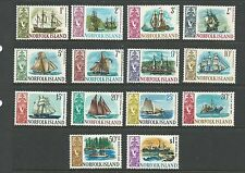 1967 Ships set of of 14 Mint Light Hinged as per Scan