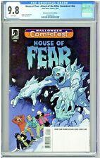 House of Fear Attack of the Killer Snowmen CGC 9.8 Halloween ComicFest Edition