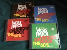 Rock N Roll 4 CD  : WCBS FM 101 History of Rock ~ The 60's ~ 1-4 ~ Collectables