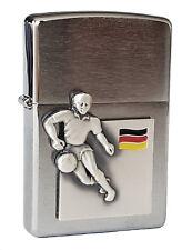 Zippo Lighter ● Soccer Fussball Deutschland Germany Emblem ● Neu New OVP ● A650