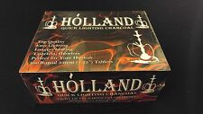 Holland Charcoal Box 10 Rolls of 10 Discs Resin Incense Burning Hookah Smoking