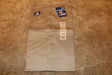 Dickies Girl's Jr Bermuda Shorts Stretch Fabric KR714KH Size 9 Khaki 32 x 13