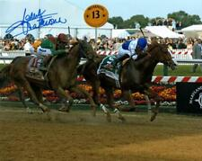 2011 Preakness Stakes Shackleford Signed Autographed Color 8x10-Jesus Castanon