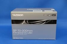 Tamron SP 70-300mm F/4-5.6 Di VC USD Lens For Nikon Japan Domestic Version New
