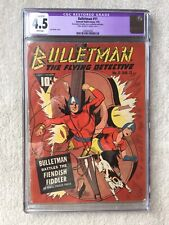 Bulletman #11 Fawcett, January 1943 CGC 4.5 White Pages