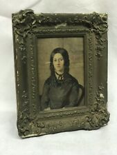 Victorian Framed Watercolours Lady Ison Of Walthamstow, London