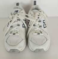 New Balance 608 V4 Womens ABZORB Sneakers Size 8.5 White WX608V4W