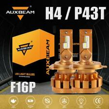 AUXBEAM 2x H4 70W LED Headlight Bulbs HID Kit Canbus High / Low Beam 7000lm F16P