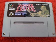 SNES. Super Power League. (NTSC JP) SHVC-AXBJ
