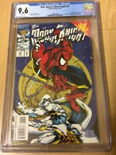 Moon Knight Comic Book #57 (Amazing Spider-Man #301 Cover Homage) Graded CGC 9.6