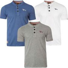Herren-T-Shirts aus Baumwolle mit Knopfleiste in Größe XL