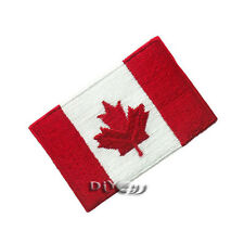 CanadaFlag Patch Embroidered Flag Sew or Iron on Patch National Flag Patches