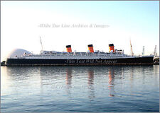 Photo: Hotel Queen Mary, Long Beach, CA - Early AM View, 2007