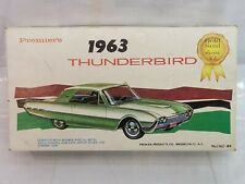 Premier 1362-89 1963 Ford Thunderbird Kit 1:32 1960s