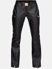 Under ArmourLindsey Vonn Black Santa Caterina Ski Pants Womens 10 *NEW* $400