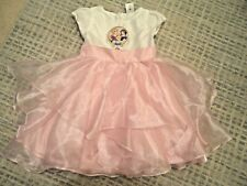 Disney Store Girls Pink Princess Fancy Dress Costume Age 5-6 years