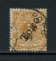 U585  Germany/Togo  1897   3pf.  yellow-brown  1v.  used